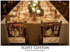 Wedding inspiration-- NYE wedding at Big Cedar Lodge.