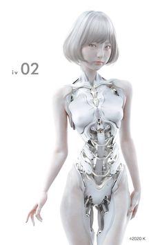 Cyberpunk Girl, Arte Cyberpunk, Cyberpunk Character, Cyborg Girl, Female Cyborg, Robots Characters, Cyberpunk Aesthetic, Arte Robot, Robot Girl