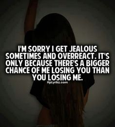 i get jealous quotes - Google Search