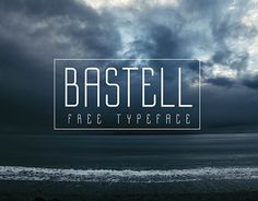 """Check out new work on my @Behance portfolio: """"Bastell  ––  Free typeface"""" http://be.net/gallery/38398483/Bastell-Free-typeface"""