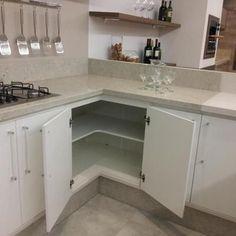 armário de cozinha em alvenaria - Buscar con Google