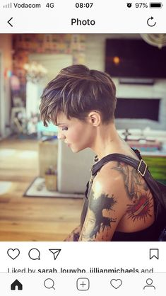 Likes, 6 Comments - Ruby Rose (Sheri O'. - - Likes, 6 Comments – Ruby Rose (Sheri O'… – - 1940s Hairstyles Short, Short Pixie Haircuts, Cool Hairstyles, Hairstyle Short, Haircut Short, Pixie Bob, Ruby Rose Hairstyles, Short Pixie Cuts, Poxie Haircut
