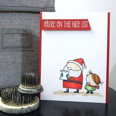 You're on the nice list! By Jennifer Ingle.