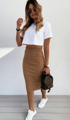 Winter Fashion Outfits, Casual Summer Outfits, Simple Outfits, Classy Outfits, Look Fashion, Chic Outfits, Spring Outfits, Trendy Outfits, Autumn Fashion