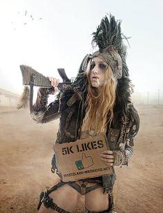 5k Likes! by Wasteland-Warriors.deviantart.com on @DeviantArt