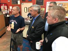 Thank you Old Town Donuts at 3941 Mid Rivers Mall Dr. in Cottleville for hosting our Morning Brew this morning. They have the best donuts.