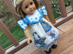 American Girl Waldorf doll clothes 3 pc by judysdollboutique