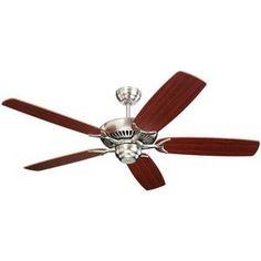 """Monte Carlo Fan M5CO52BS """"Colony"""" Large Fan (52''  Shop.Ferguson.com! $144"""
