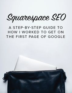 Squarespace SEO: A step-by-step guide to how I worked to get on the first page of Google. SEO is a tricky beast, but I know that you're ready to tackle it so you can get some more eyes on your website.
