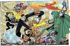 The Fantastic Four by John Byrne.