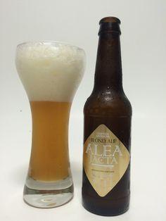Alea jacta Blond Ale. Cerveza Artesanal elaborada por CheMarta en Carbonero el Mayor Segovia. 4,2% vol. Alc.  #CervezaArtesana #Beer #Segovia