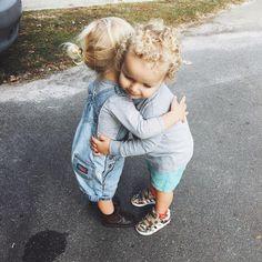 The sweetest hug.