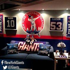 NY Giants Fan Cave