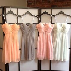 Wedding colors but delete peach and add navy!!!