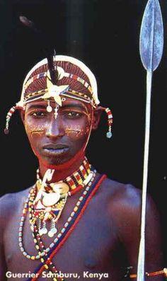 Guerrier Samburu, Kenya