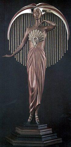 @Deidra Brocké Wallace -Erte Art Deco Museum of Sculpture.