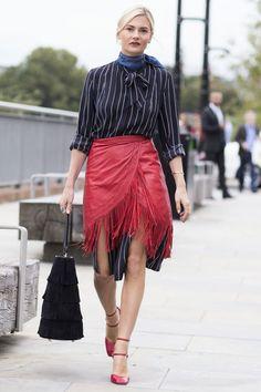 London Fashion Week Street Style SS16: Pandora Sykes