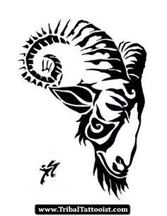 tattoo design capricorn goat head tattoo on back capricorn goat tattoo Tribal Tattoos, Head Tattoos, Body Art Tattoos, Sleeve Tattoos, Tattoo Design Drawings, Tattoo Designs, Sailing Tattoo, Crocodile Tattoo, Widder Tattoos