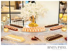 Binita Patel | Alden Castle Showcase #AldenCastle #ModernVintage #Wedding #SweetTable #Sweets #Dessert