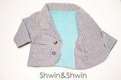 Baby Blazer Pattern || Free PDF Pattern || Shwin&Shwin-size 3months
