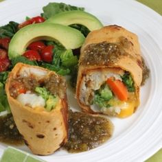 Fish Chimichangas by MomFoodie