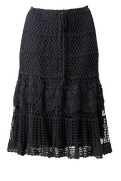I've always wanted to knit/crochet a skirt