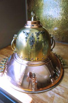 Industrial ceiling lamp.Steampunk by SteampunkShopArt on Etsy