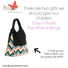 Check out our trendy and stylish Tibeca Hobo bag #bayacollections #tribecahobo #trendybabybags