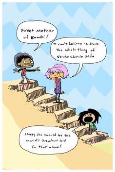 Sloppy Joe, Bambi, The World's Greatest, Comics, Kids, Young Children, Boys, Children, Cartoons