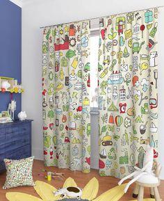 """Комплект штор """"Процион"""": купить комплект штор в интернет-магазине ТОМДОМ #томдом #curtains #шторы #interior #дизайнинтерьера"""