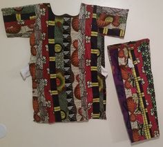 AFRICAN Patchwork (Baye Fall)  Short Set - ADE' by soumahstore on Etsy