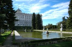 The Sabatini Gardens (in Spanish: Jardines de Sabatini) are part of the Royal Palace in Madrid, Spain, and were opened to the public by King Juan Carlos I in 1978. They honor the name of Francesco Sabatini (1722–1797), an Italian architect of the 18th century who designed, among other works at the palace, the royal stables of the palace, previously located at this site.