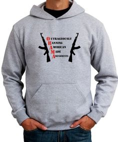 Obama Bans Amendments Hoodie