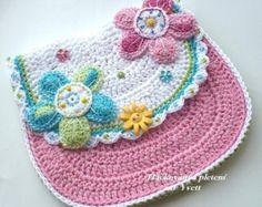 PATTERN handbag for little girls crochet by CrochetfromYvett