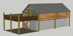 Shipping Container House Concept