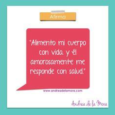 Afirmación salud 4 jun 2 | Andrea de la Mora