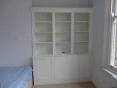 bookshelf cupboard - Google Search Bookshelves, Bookcase, Cupboard, Landing, Google Search, Home Decor, Clothes Stand, Bookcases, Armoire