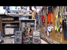Vacuum Tube PA Amplifier Video #22 - Powering Up the Tubes