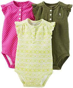 Carter's 3 Pack Bodysuits (Baby) - Assorted-Newborn Carter's http://www.amazon.com/dp/B00W02GRJO/ref=cm_sw_r_pi_dp_qj6oxb0SXA61W