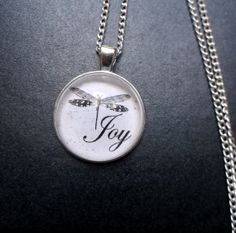 Darling Dragonfly Collection 'Joy' Glass by LilliRoseCreations, £5.00