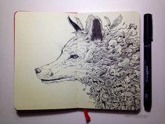 Kerby Rosanes y las magníficas historias de sus bocetos | OLDSKULL.NET