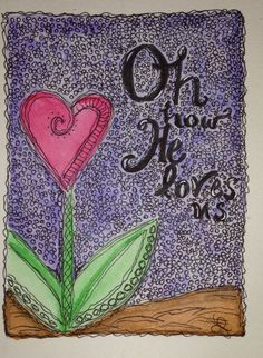 Water color and doodle art... And a little zen tangle. Working on my lettering!