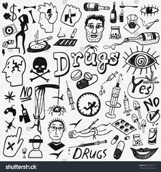 Find Drugs Doodles stock images in HD and millions of other royalty-free stock photos, illustrations and vectors in the Shutterstock collection. Thousands of new, high-quality pictures added every day. Hipster Drawings, Trippy Drawings, Mini Drawings, Doodle Drawings, Easy Drawings, Pencil Drawings, Kritzelei Tattoo, Doodle Tattoo, Graffiti Doodles