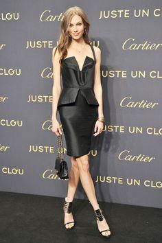 Karlie Kloss in Cushnie et Ochs #karlieskloss #bestdressed #cushnieetochs #supermodel