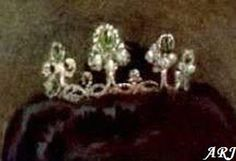 Artemisia's Royal Jewels: Italian Royal Jewels Tiara I  made with stones from previous parure