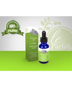 Le Parfait Skin Hyaluronic Acid & Vitamin C Moisturizing Serum | zulily  . $16.99 $24.95 Description:  This super-hydrating serum replenishes skin with essential moisture to create a soft and clarified complexion. Vitamin C and hyaluronic acid brighten discoloration caused by sun damage, blemishes and scarring.      1 oz.     Ingredients: purified water, aloe vera leaf juice, vegetative glycerin usp, sodium hyaluronate, ascorbic acid, hydroxyethylcellulose,