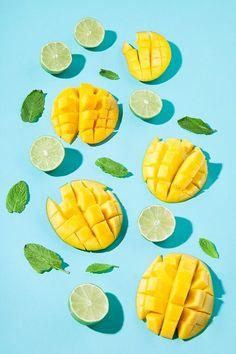 Virgin Mango Mojito Art - Summer Style Inspo  summer | summer style | mangoes | mojito | summer mocktails | refreshing summer drinks | mocktails | mint | summer fashion | summer mood board