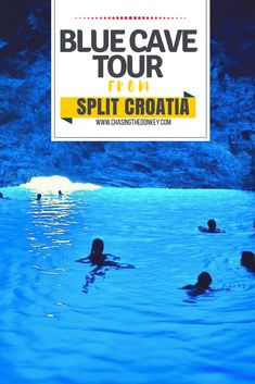 These Blue Cave tours from Split, Croatia wont leave you dissapointed. Click here to find all of the best tours to this magical cave. #Split #DayTrip #Croatia #BlueCave #TravelCroatia