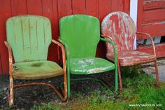 Vintage Chairs...  These are so beautiful.