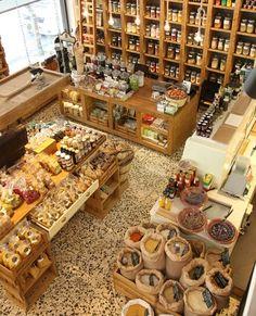 Bulk Store, Eco Store, Grocery Store, Supermarket Design, Retail Store Design, Deco Restaurant, Restaurant Design, Deco Design, Cafe Design
